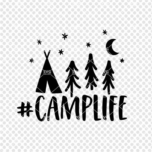 Happy Camper svg Camplife SVG camper SVG Digital cut file