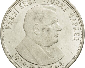 coin slovakia 50 korun 1944 au(50-53) silver km10