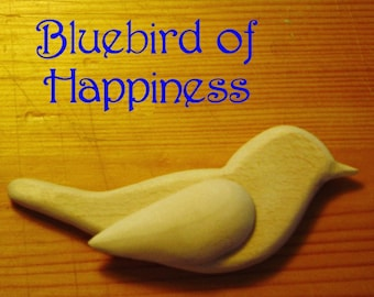 Bluebird of Happiness - Ornament Decoration -  WEDDING Cake Toppers - Bird MOBILES - Nursery Mobile