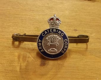 Army Catering Corps - British Military Enamel Bar Brooch