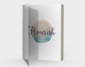 Flourish Notebook