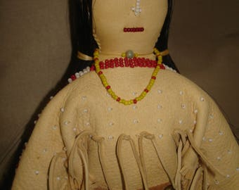 Native American Plains Indian Doll