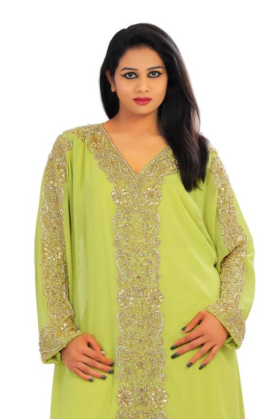 abaya kaftans Wedding Maxi sale Dress very gown jalabiya dubai abaya fancy earings Ladies Dubai on EID2018 p48wnqFx