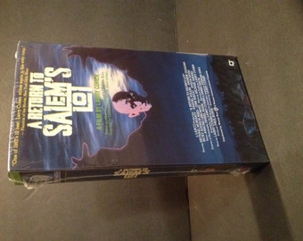 1987 A Return to Salem's Lot, Vintage Horror VHS, New in Sealed Factory Packaging
