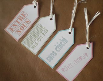 Message for any occasion gift tags