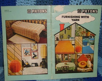 Patons Furnishing With Yarn Book 409