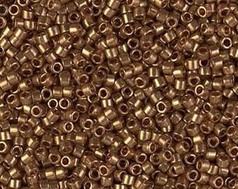 Miyuki Dark Topaz Gold Luster DB0115 5g