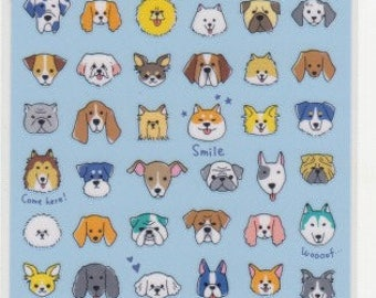 Dog Stickers - Japanese Stickers - Mind Wave Stickers - Reference HS6823