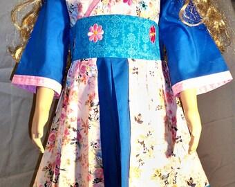 handmade girls kimono