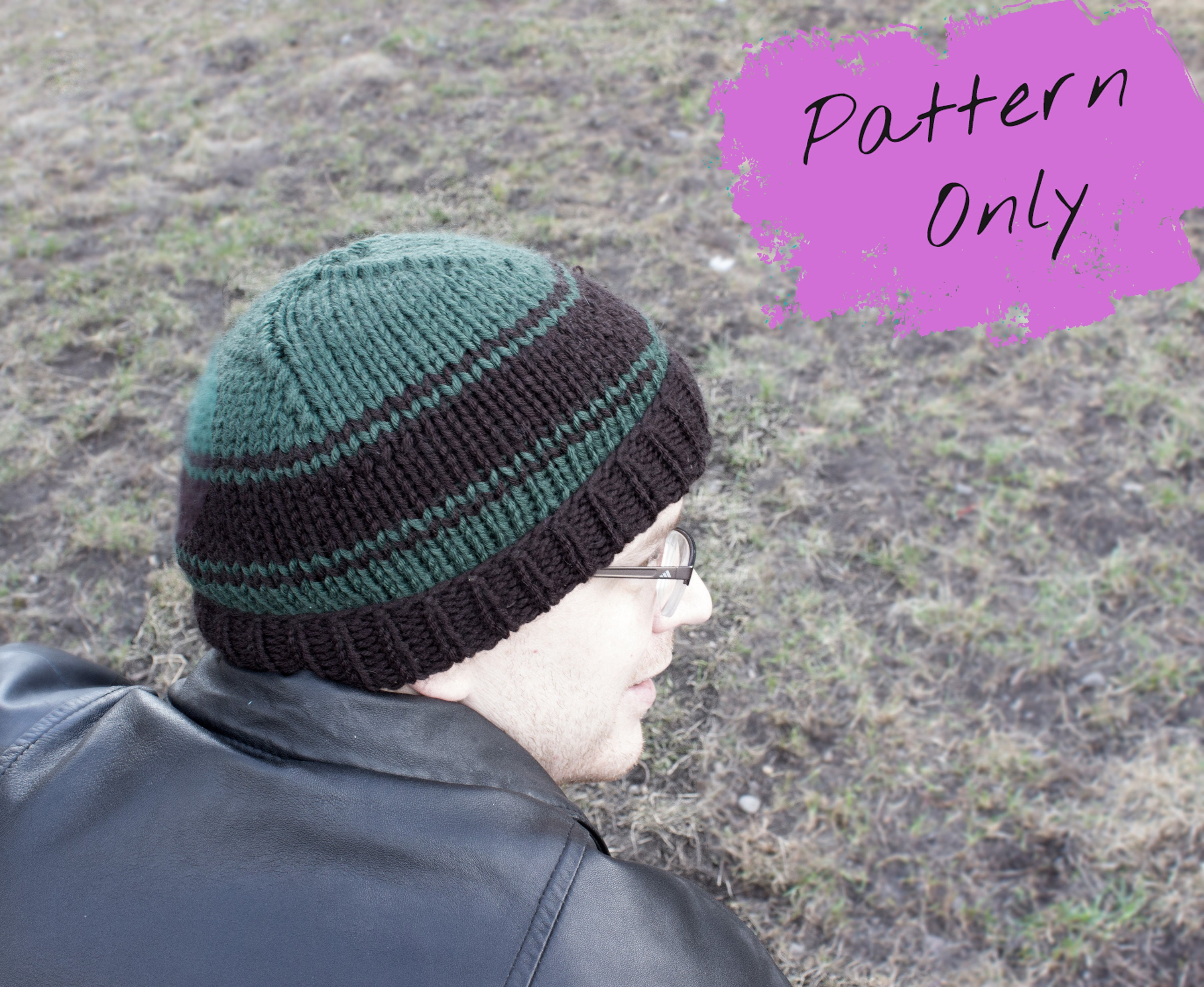 Men\'s Hat KNITTING PATTERN - Infant to Adult Sizes - Double knitting ...
