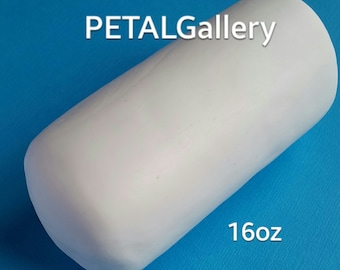 Cold Porcelain-Cold Porcelain Clay-Air dry Clay-16oz-modeling clay-PETAL clay-white-clay-porcelena fria