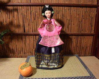 Vintage Korean Doll 13 Inches Tall