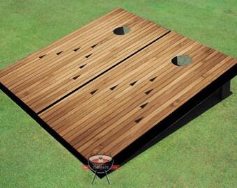 Custom Corn Hole Bowling Alley Graphic Cornhole Boards