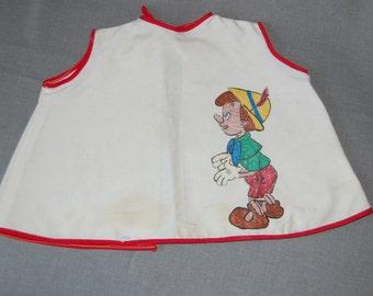 Pinocchio Vintage baby Bib