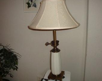 Stiffel lamp etsy vintage stiffel brass lenox fine porcelain china quality table lamp hollywood regency deco aloadofball Gallery