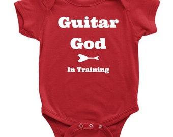 Guitar God in Training - Onesie