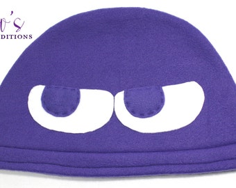 Puyo Puyo - Purple Hat / Fleece Hat / Winter Hat / Puyo Hat / Video Game Characters