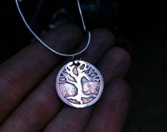 Copper Tree Necklace