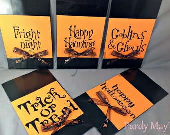 Halloween Goodie Bags, Halloween, Treat Bags, Halloween Party Favor Bags, Halloween Goody Bags, Halloween Party Supplies, Halloween Party