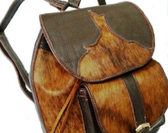 Leather backpack, leather backpack, purse, bag, leather and skin, suitcase, Briefcase, gifts, man and woman.