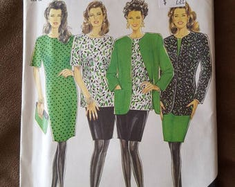 VINTAGE New Look 6125 Misses Jackets, Dress, Top and Skirt 10-22