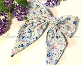 Handmade Fabric Hair Bow