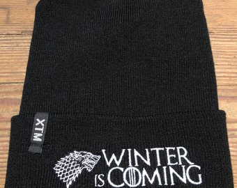 "Game of Thrones - Stark ""Winter is Coming"" beanie"
