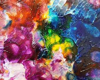 Nature Celebration Original Abstract Painting
