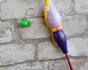 Rapunzel Inspired Ergonomic Crochet Hook