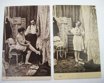 Erotic postcards