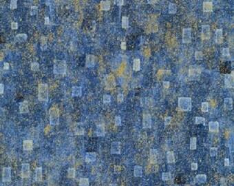 Gustav Klimt Blue Geo w/Metallic
