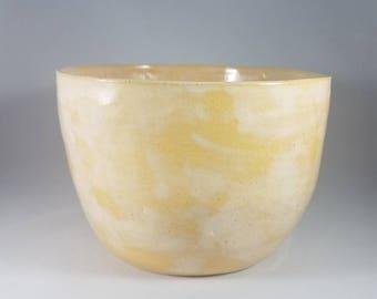Golden Serving Bowl