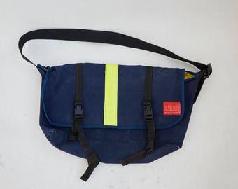 Manhattan Portage | Vintage Messenger Bag | Navy Messenger Bag | True Messenger Bag | XL Mens Crossbody Bag