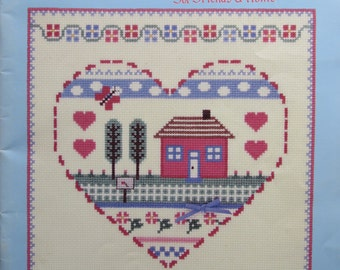It's The Thought That Counts/Counted Cross Stitch Patterns by Gloria & Pat/198O/Samplers/Wallhangings