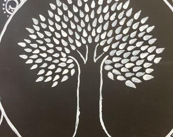 Peinture originale d'arbre