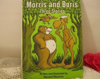 Vintage Morris and Boris Three Stories 1974  ~~  Child's Hardback Storybook