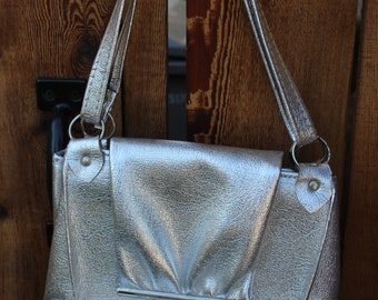 VINTAGE silver purse wtih coin purse