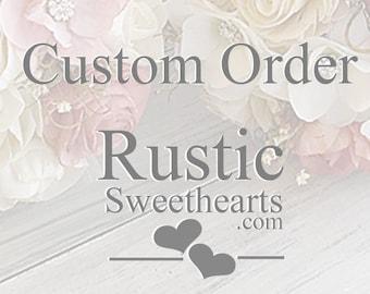 Custom order for Aimee