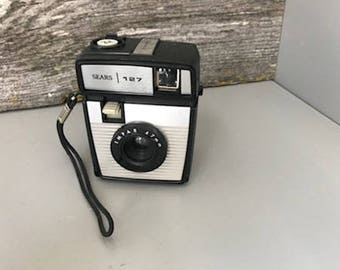 Awesome Vintage Sears Brand 127 Film Camera