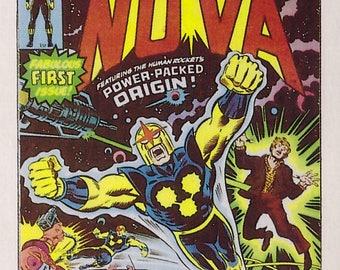 Marvel #1 Nova Comic Card from 1984 FTCC