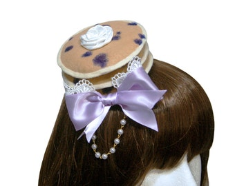 Sweet Blueberry Pancakes and Whipped Cream Barrette - Made to Order