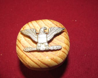 WWII Shold R Form Eagle Flight Wings - Sterling