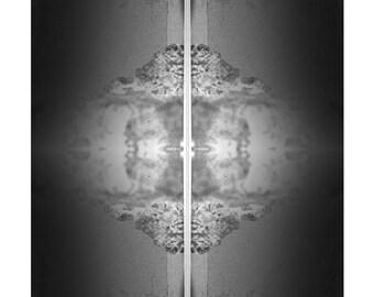 FLUX . large framed print