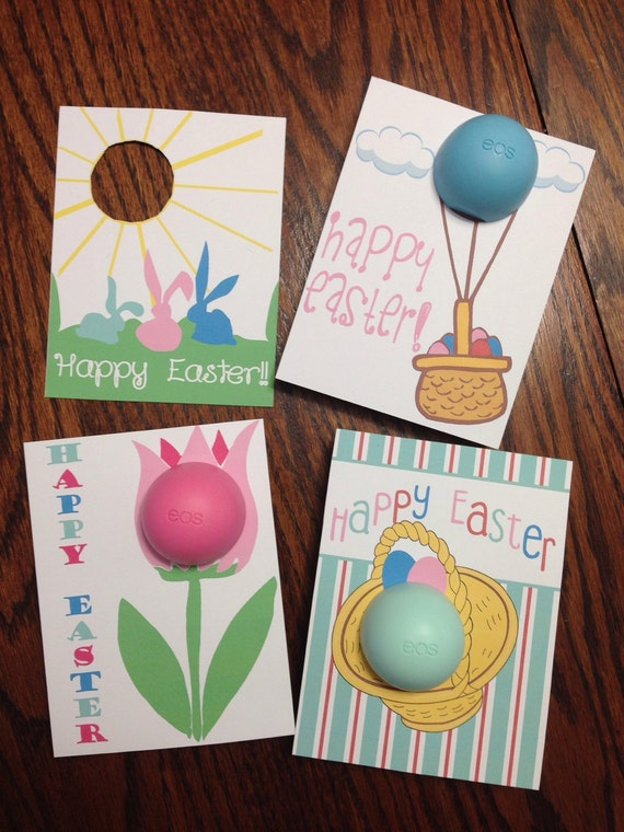 Easter cardsgift tags for eos lip balm printable instant negle Gallery