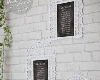 """Personalized - custom her wedding or birthday decoration or other """"Bird Cage"""" table plan"""