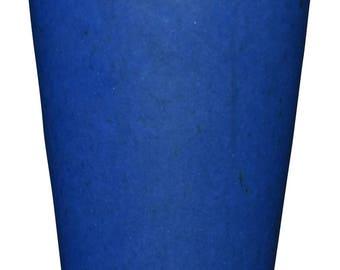 Saxbo Danmark Pottery Bright Blue Vase 112