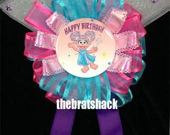 Corsage - Abby Cadabby Birthday Party