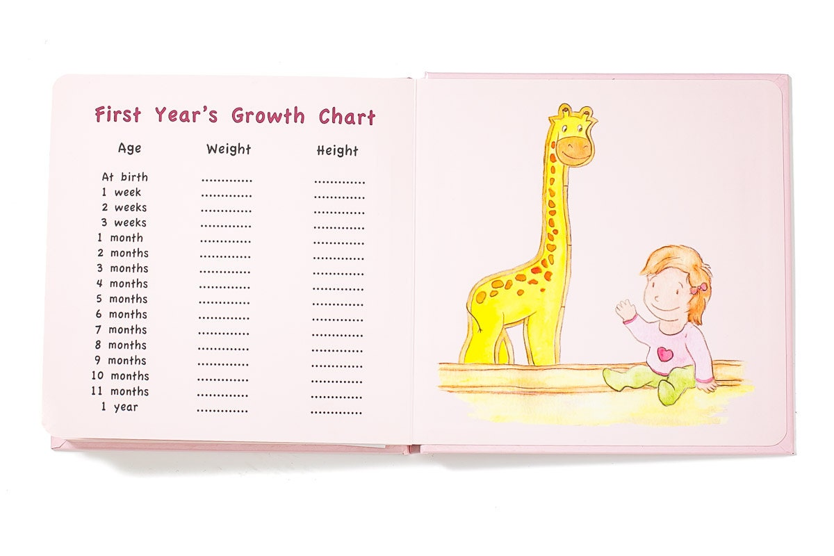 Baby girl first years memory book light hair light skin nvjuhfo Image collections