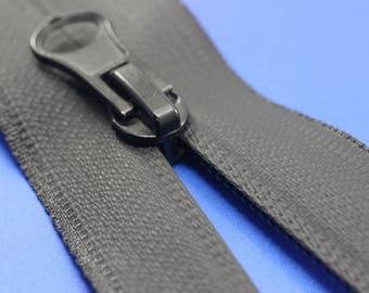 Waterproof Black Zippers, 20 cm, (7inc) zipper, Waterproof zipper, Water Resistant zipper, Jacket Zipper, WRBZ