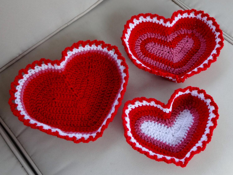 Awesome Rotes Herz Häkeln Freie Muster Sketch - Decke Stricken ...